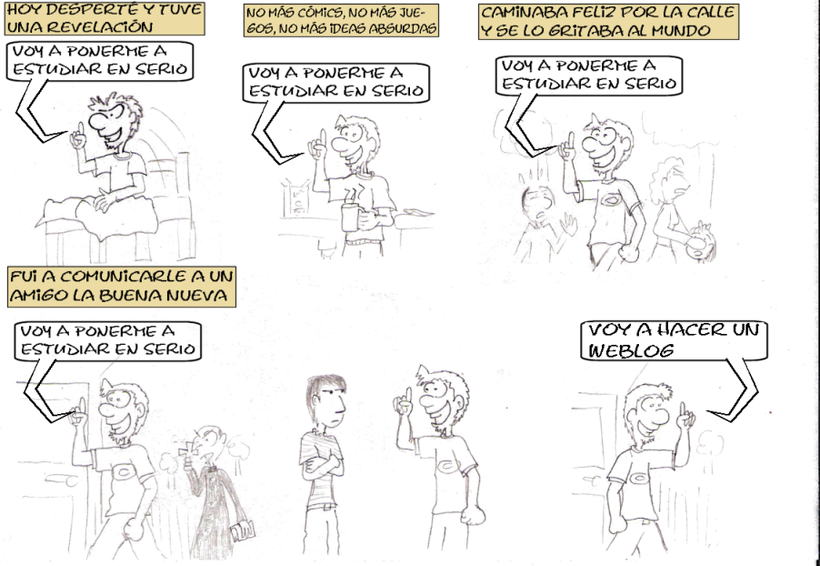 La primera tira
